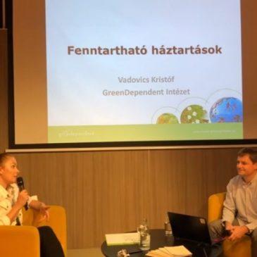 Fenntartható háztartások – beszélgetés Vadovics Kristóffal